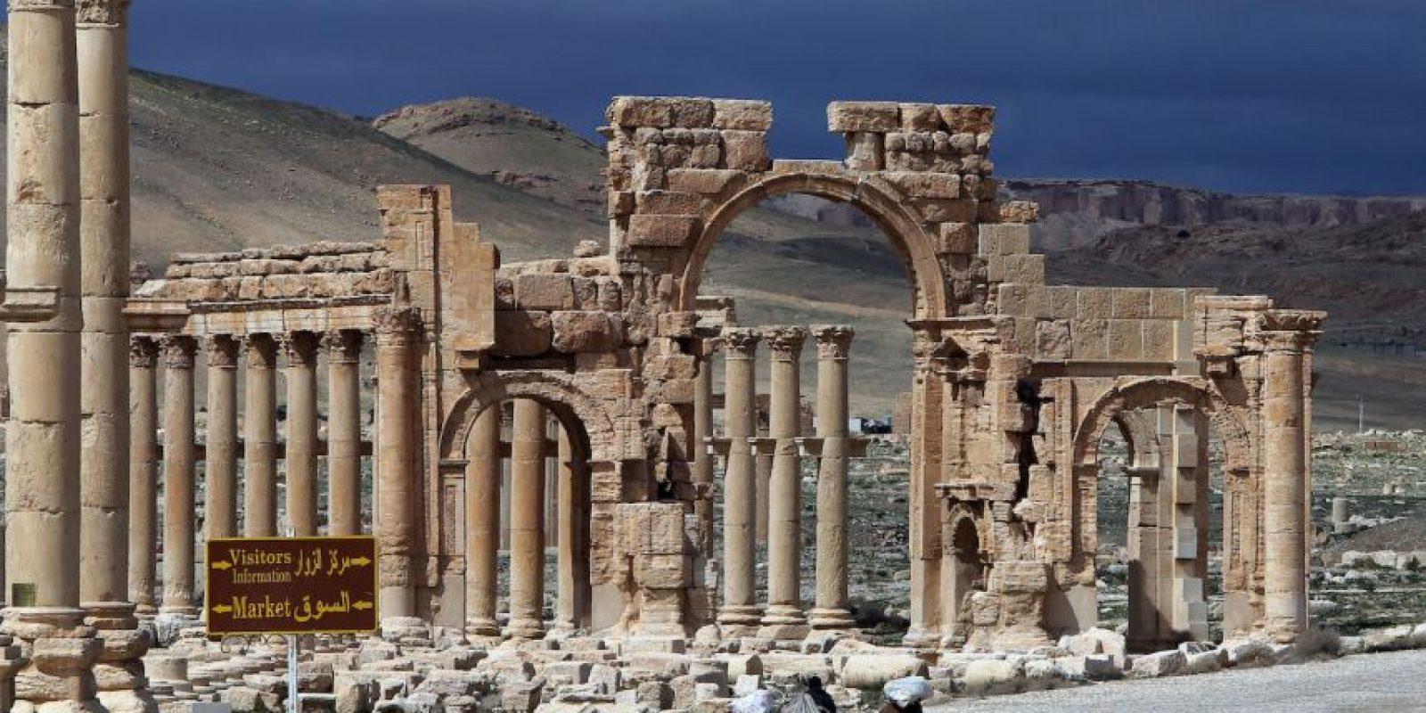 Recientemente ISIS destruyó el sitio arqueológico asirio de Nimrud. Foto:AFP