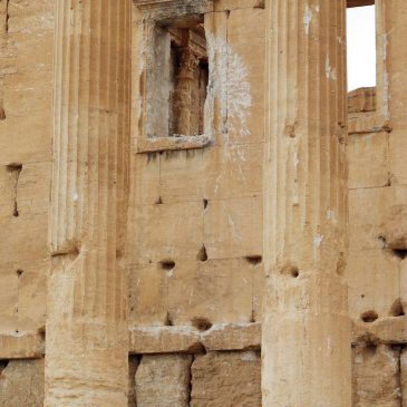 """5. """"Desde el primero hasta el siglo segundo, el arte y la arquitectura de Palmira, de pie en la encrucijada de varias civilizaciones, casando técnicas grecorromanas con las tradiciones locales y las influencias persas"""", detalla la UNESCO. Foto:AFP"""