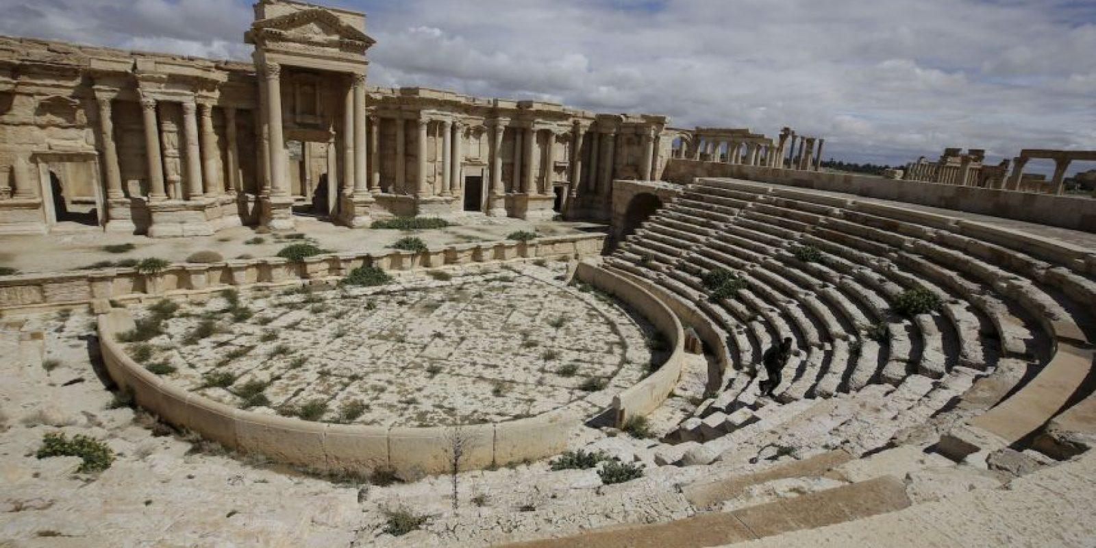 1. La ciudad de Palmira está localizada a unos 215 kilómetros al noreste de Damasco. Foto:AFP