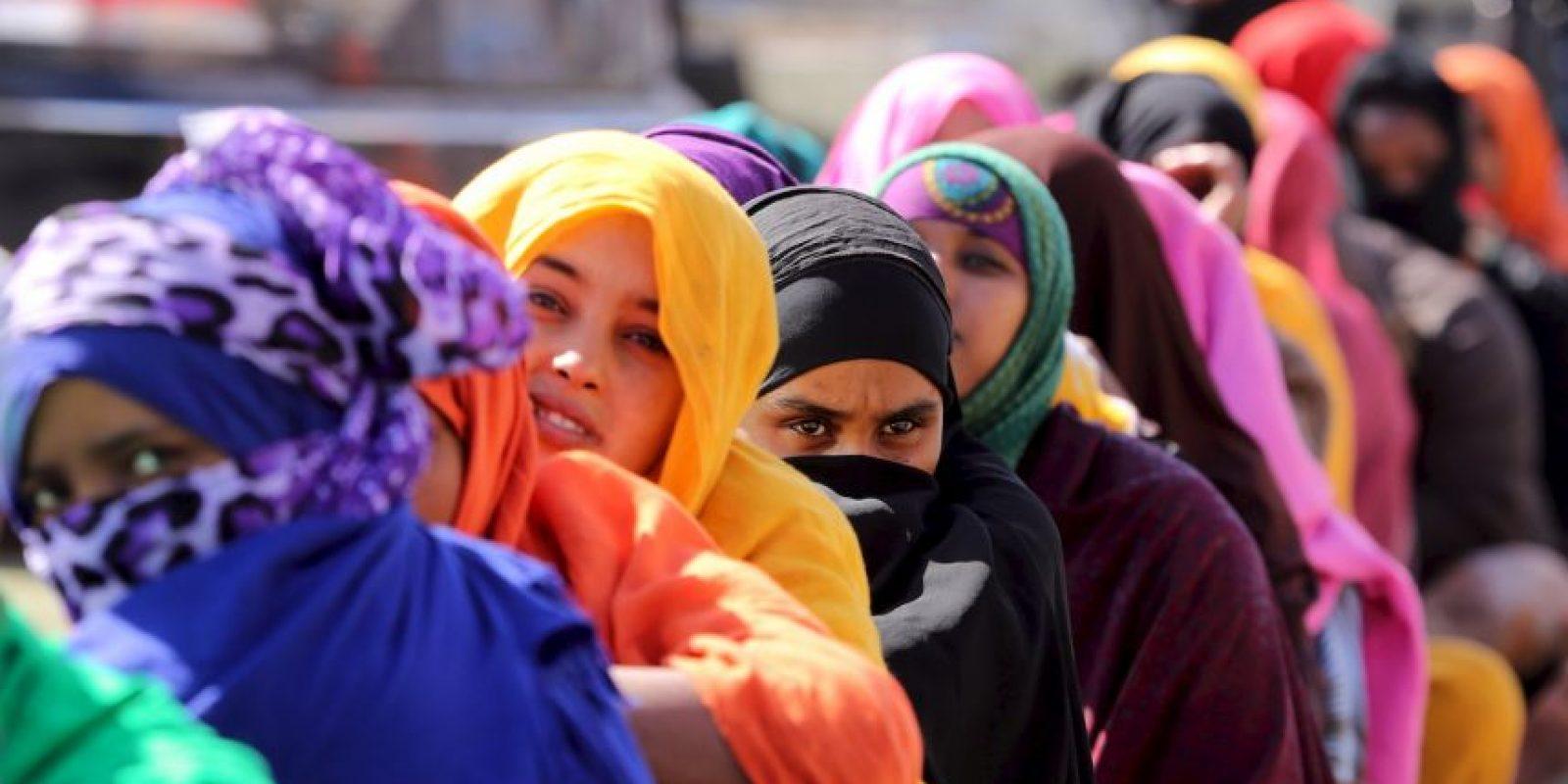 En el pasado mes de abril más de 800 personas murieron en un naufragio de un barco proveniente de Libia. Foto:AFP