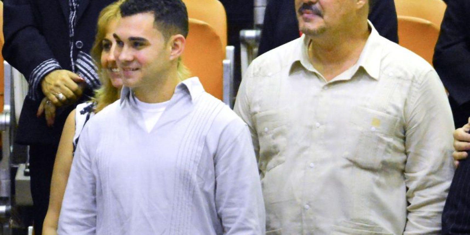 Actualmente Elián González es estudiante de ingeniería. Foto:AFP