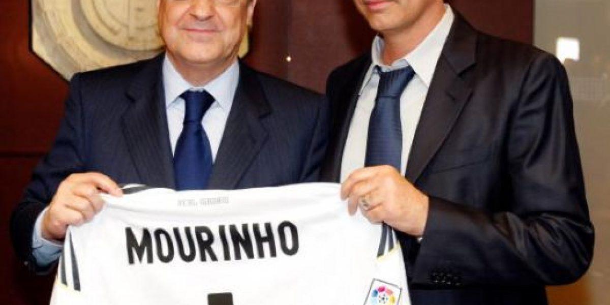 Mourinho rechaza propuesta de Florentino Pérez