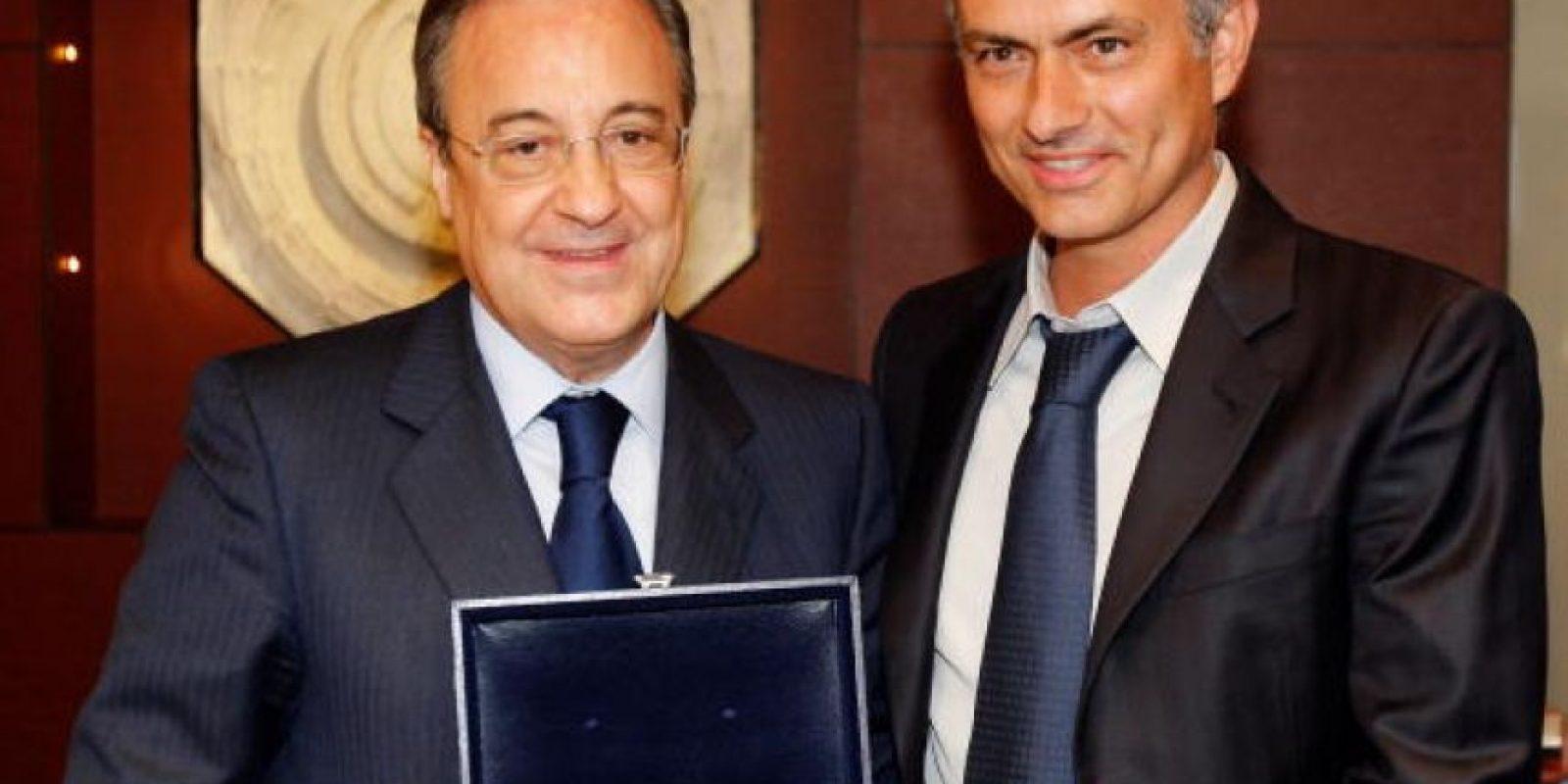 El portugués firmó con el cuadro merengue tras haber ganado la Liga, Copa y Champions con el Inter de Milán de Italia. Foto:Getty Images