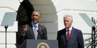 Bill Clinton fue el 42º presidente de los Estados Unidos en los periodos de 1993-1997 y 1997-2001. Foto:Getty Images