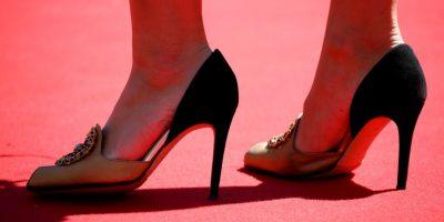 Después de que le impidieron la entrada a una mujer por no llevar tacones altos Foto:Getty Images