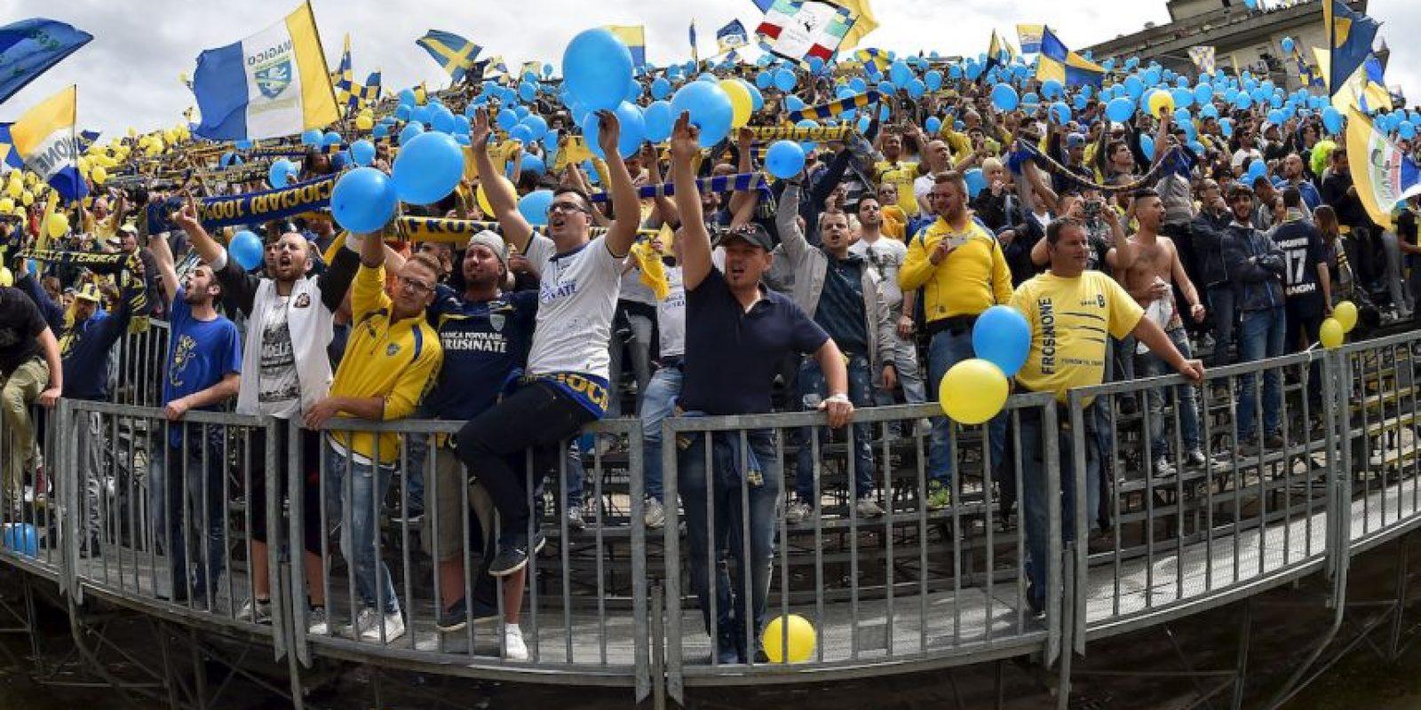 El Frosinone consiguió el ascenso a la Serie A Foto:Getty Images