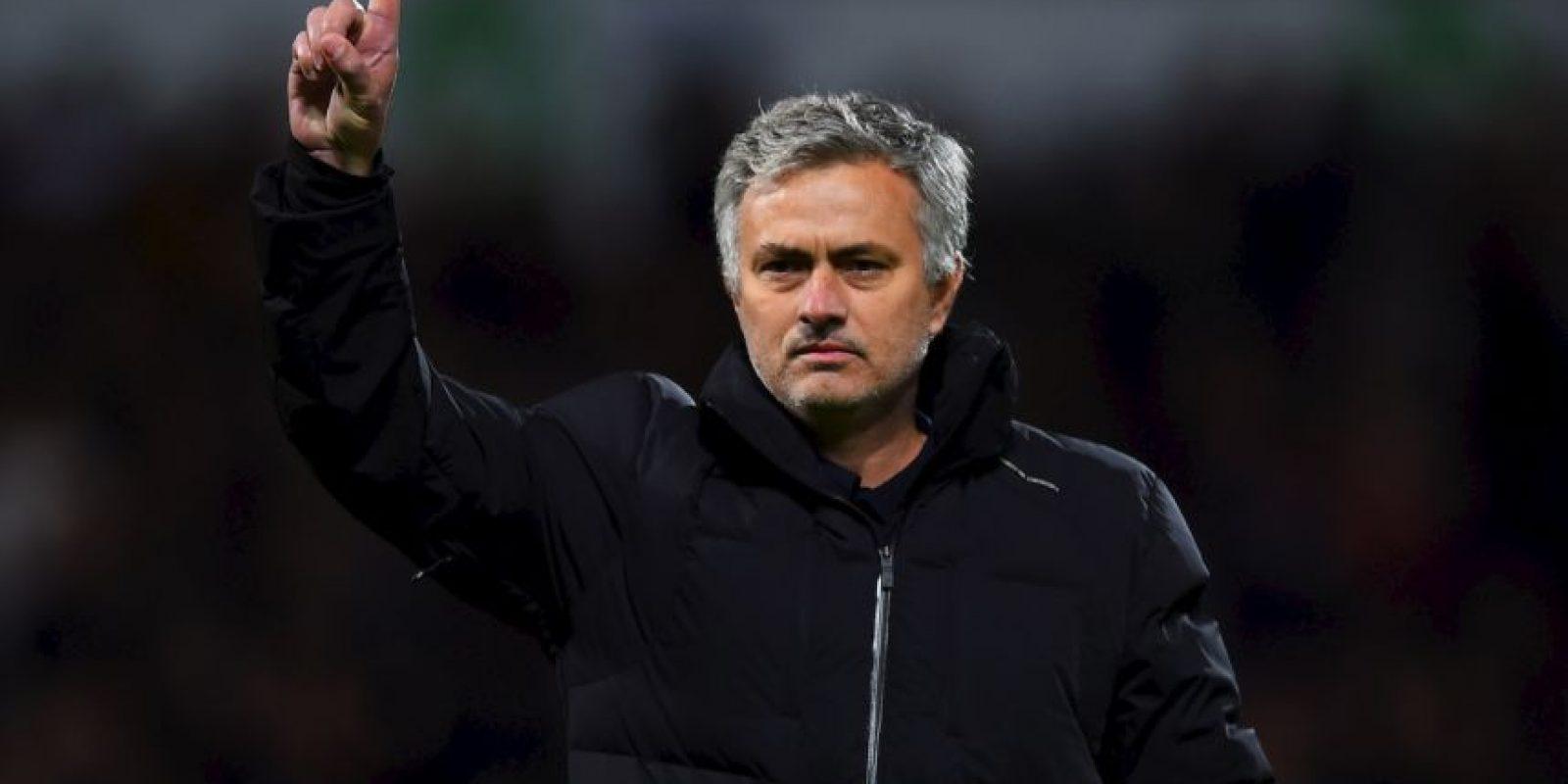 Jose Mourinho es uno de los entrenadores de fútbol más exitosos de la última década. Foto:Getty Images