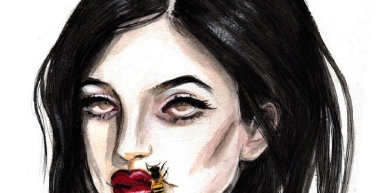 2. El #KylieJennerChallenge fue una tendencia de las redes sociales que invitaba a las personas a deformar sus labios con una tapa o botella, inspirados en los grandes labios de Kylie. Foto:vía instagram.com/kyliejenner