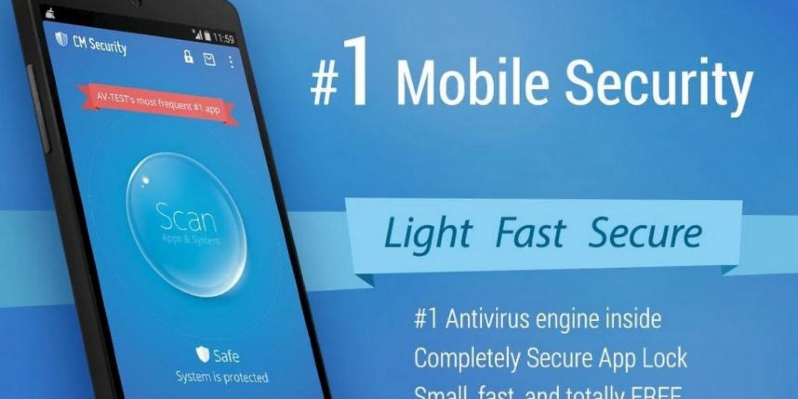 Detecta virus y su peligrosidad. Foto:Cheetah Mobile (AntiVirus & AppLock)