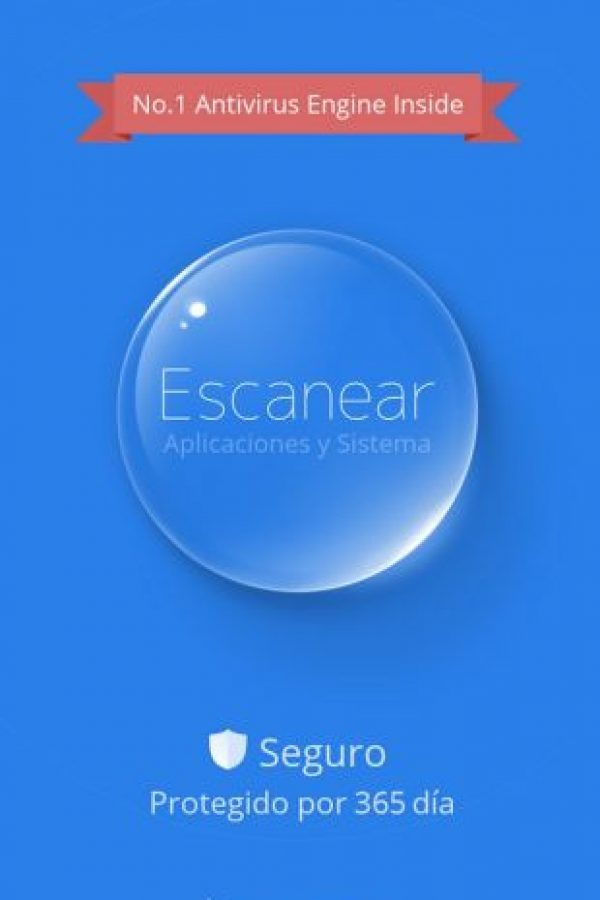 Corrige las vulnerabilidades del sistema y escanea nuevas aplicaciones. Foto:Cheetah Mobile (AntiVirus & AppLock)