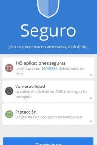 Ocupa poco espacio, tomando la mitad de la memoria del teléfono que ocupan otras aplicaciones de antivirus. Foto:Cheetah Mobile (AntiVirus & AppLock)