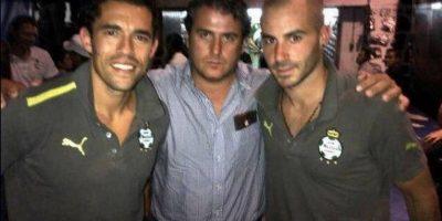 Así se veía cuando llegó al fútbol mexicano en 2011 Foto:Vía twitter.com/marccrosas
