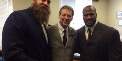 Jugador de los Acereros de Pittsburgh de la NFL Foto:Vía twitter.com/bkeisel99