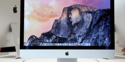 iMac Core iX es la más reciente iMac en el mercado Foto:Getty Images