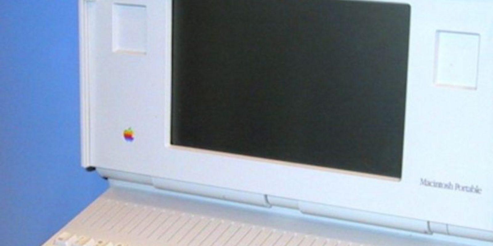 Así lucía la Macintosh Portable, cuya peor pesadilla fue el enorme y nada portable diseño Foto:Wikicommons