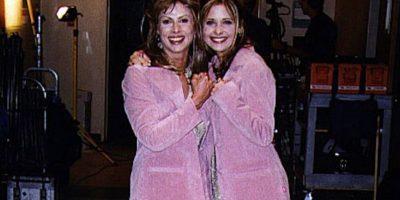 Sarah Michelle Gellar y Sophia Crawford Foto:Vía allusedup.tumblr.com/