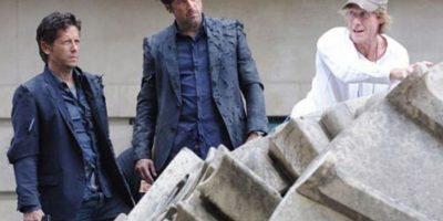 """Patrick Dempsey y su doble de """"Transformers"""" Foto:Vía tumblr.com/patrick-dempsey"""