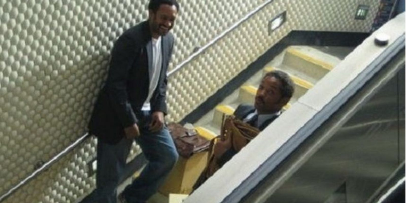 "Will Smith y su doble en ""En busca de la felicidad"" Foto: Vía tumblr.com/tagged/will-smith"