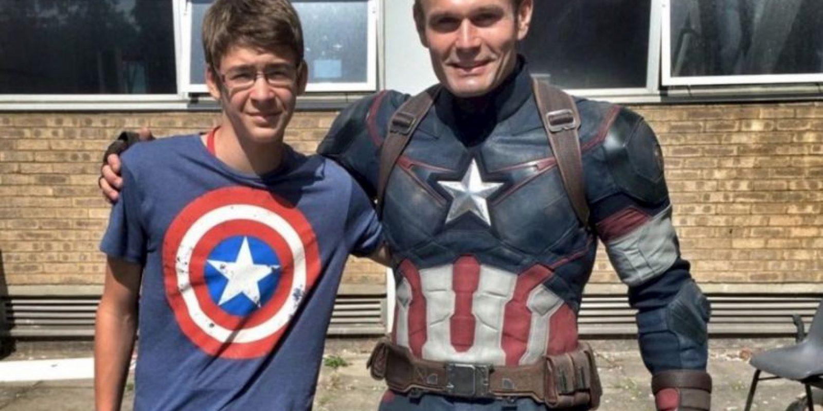 """Jan Petrina fue el doble de Evans desde la cinta """"Capitán América: El Primer Vengador"""". Foto:Vía vía facebook.com/jan.petrina"""