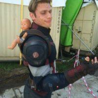 """Andy Lister es otro de los actores que colabora con Evans para crear las escenas de acción de """"Steve Rogers"""" Foto:Vía vía instagram.com/listersbox"""