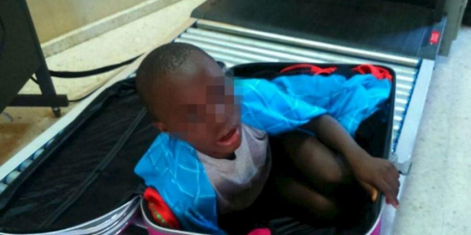 El pequeño fue acogido desde hace ya más de una semana en el centro de menores Mediterráneo. Foto:AFP