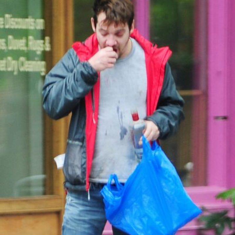 Fue captado así en las calles de Londres Foto:Grosby Group
