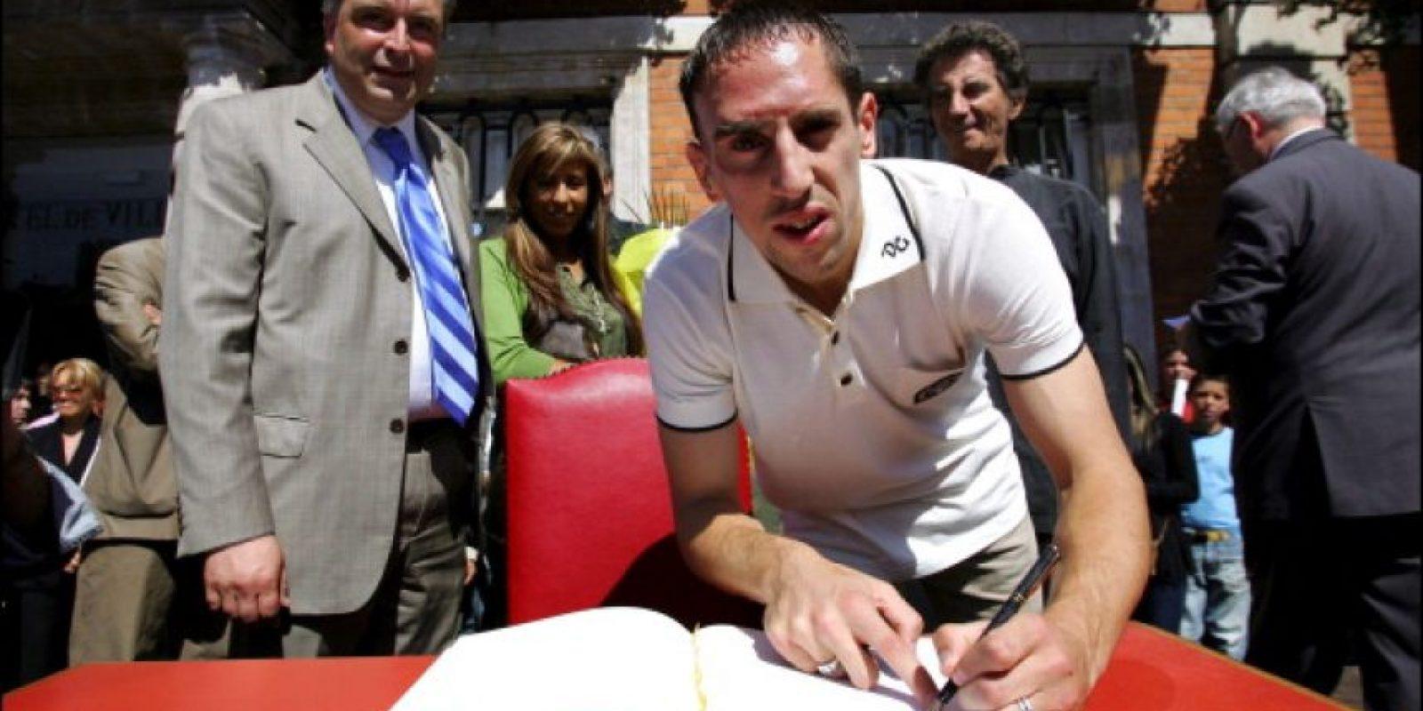 En 2001 debutó en el Bolougne de su ciudad natal en Francia. Foto:Getty Images