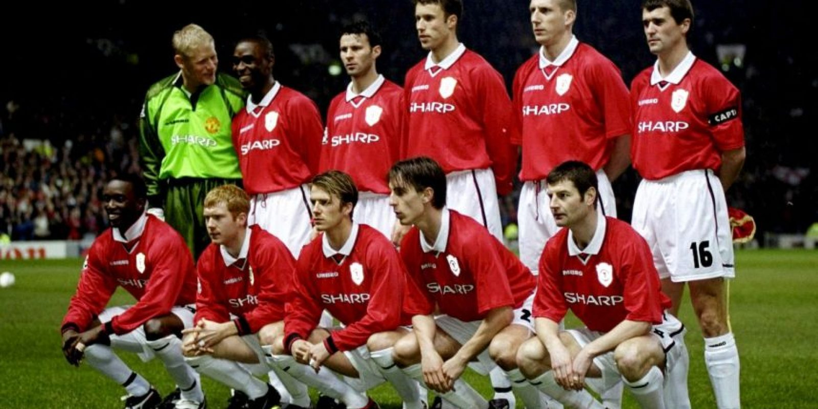 Alex Ferguson era el líder de aquél equipo donde militaban hombres como David Beckham, Ryan Giggs y Paul Scholes. Foto:Getty Images