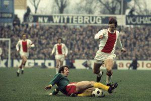 El Ájax tenía entre sus filas a Johan Cruyff y su entrenador era Stefan Kovacs. Foto:Getty Images