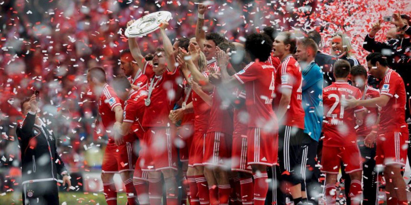 Bajo el mando de Jupp Heynckes, los alemanes dominaron el fútbol mundial en 2013. Foto:Getty Images
