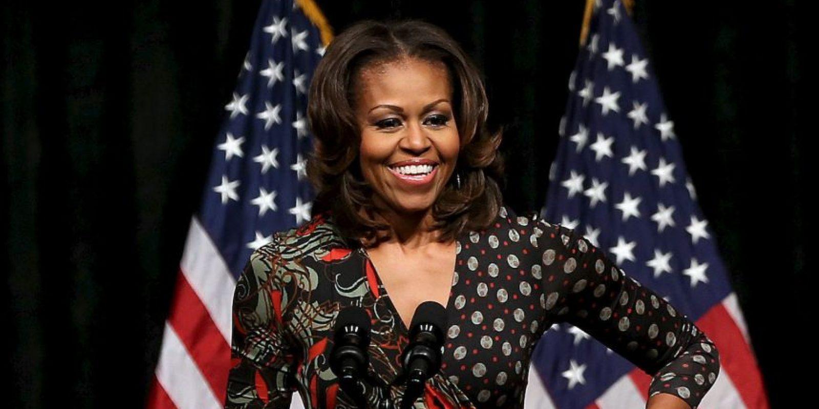 Michelle Obama compartió su rutina de ejercicios a través de las redes sociales. Foto:Getty Images