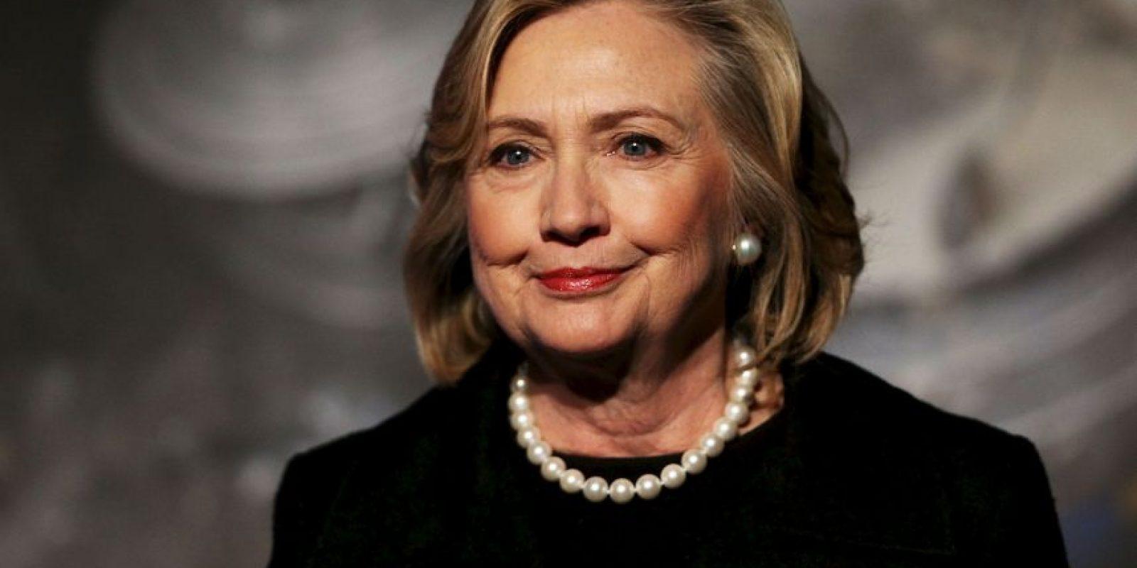 Clinton se lanzó como precandidata a la presidencia de los Estados Unidos el domingo 12 de abril. Foto:Getty Images