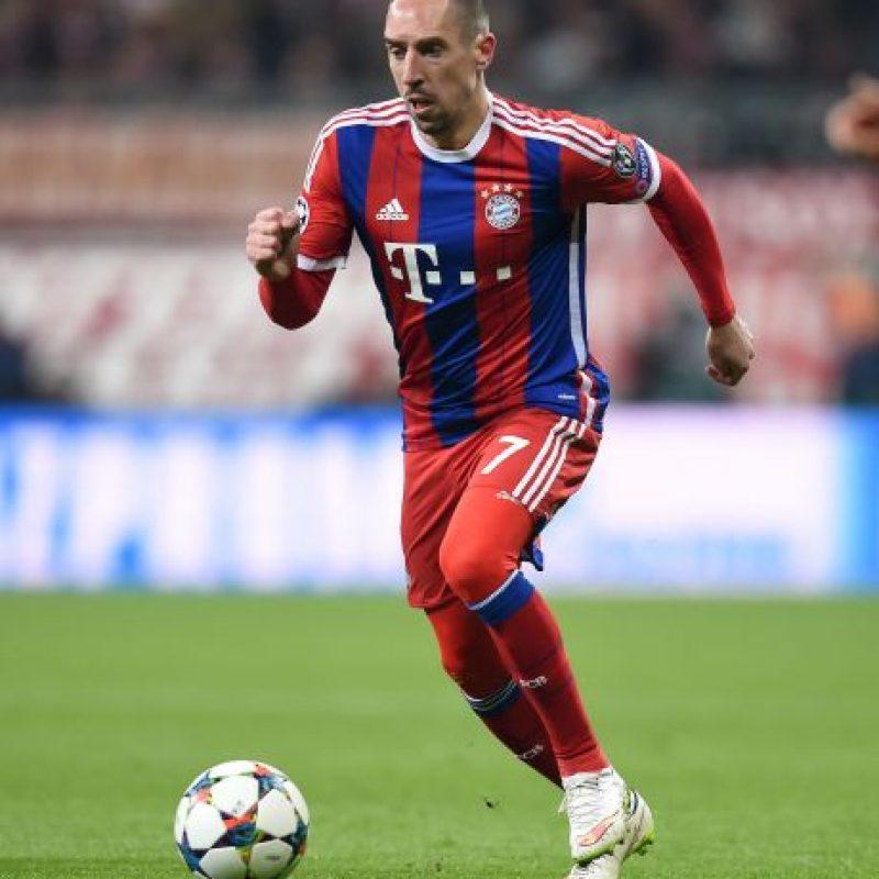 Franck Ribery (Bayer Munich) Foto:Getty Images