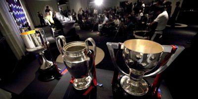"""Ganar un """"triplete"""" en fútbol significa que un equipo obtuvo tres trofeos en la temporada, los cuales son la Liga y Copa locales, y la Copa de Europa (hoy Champions League). Foto:Getty Images"""
