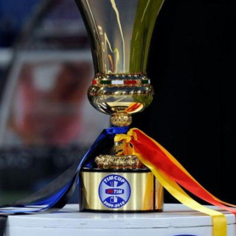 En la Serie A se impuso a la Roma tras una lucha codo a codo en toda la temporada, la Copa de Italia también se la ganaron a los capitalinos y en la Champions League venció al Bayern Munich en el Santiago Bernabéu. Foto:Getty Images
