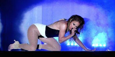 4.- Con sus atributos es capaz de intimidar a las cantantes más codiciadas del momento Foto:Getty Images