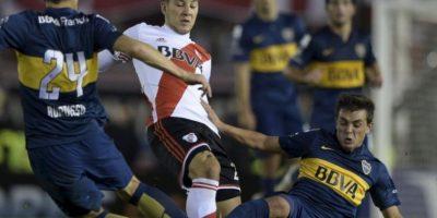 Y dañó a cuatro jugadores de River Plate Foto:Getty Images