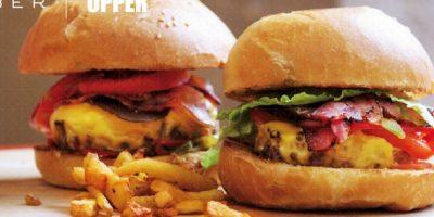 Cada martes los usuarios pueden pedir hamburguesas desde su app y los afortunados ganadores de la promoción las recibirán sin costo. Foto:twitter.com/UberFR