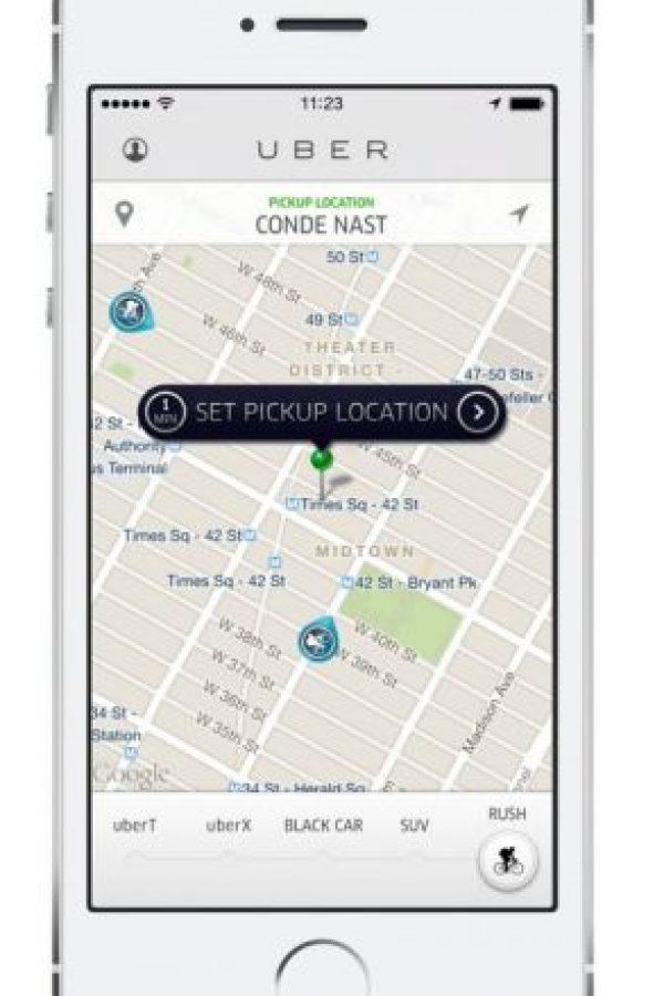 Este servicio permite hacer envíos de productos dentro de la ciudad con mensajeros en bicicleta. El costo depende de la distancia. Foto:Uber