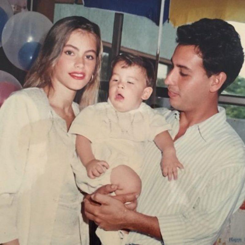 Manolo nació del matrimonio entre Sofía Vergara y José González. Foto:vía instagram.com/manologonzalezvergara