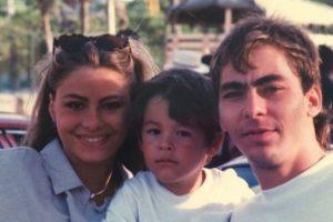 A los dos años, sus padres se separaron. Foto:vía instagram.com/manologonzalezvergara