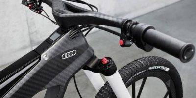 Su marco pesa 790 gramos. Foto:Audi