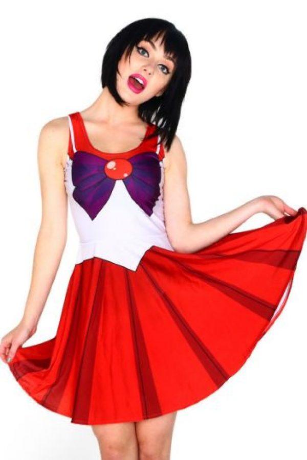 Vestido de Sailor Mars. Foto:vía Etsty