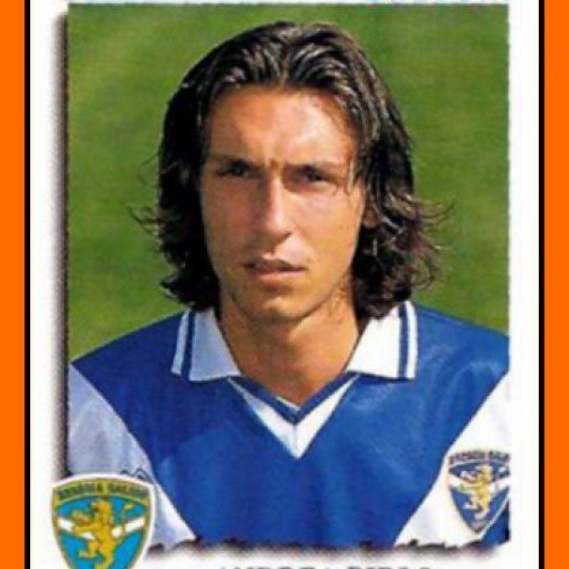 """Aunque se dio a conocer en el Inter de Milán, el """"maestro"""" italiano comenzó su carrera en el Brescia, equipo que lo debutó en 1995. Foto:fansdeandreapirlo21.blogspot.com"""