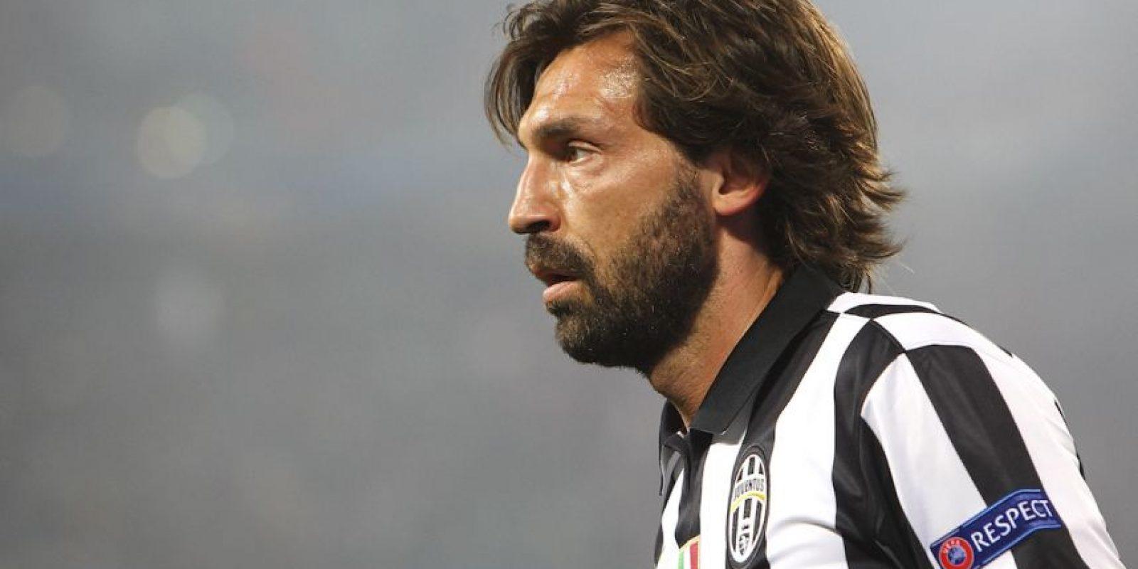 Aunque Pirlo tiene contrato con la Juventus hasta 2015-2016. Foto:Getty Images