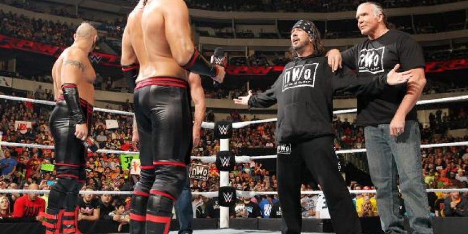 """El miembro de """"DX"""" y """"NWO"""" grabó en 2004 una película al lado de Chyna, que fue distribuida por Red Light District Foto:WWE"""