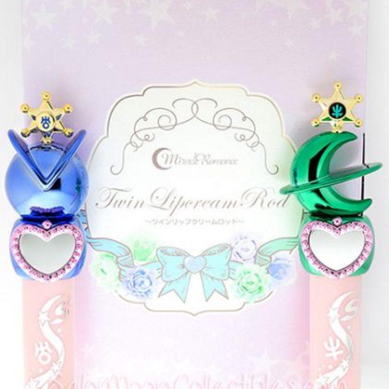 Sofisticados brillos labiales de Sailor Urano y Sailor Neptuno. Foto:vía Sailor Moon Collectibles