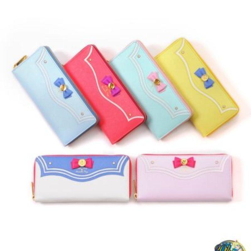 ¿Quién quiere una linda billetera? Foto:vía Sailor Moon Collectibles