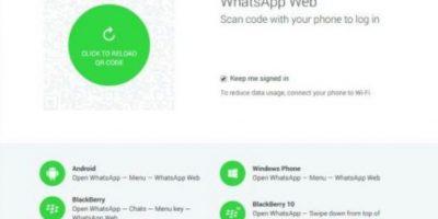 WhatsApp Web Foto:WhatsApp