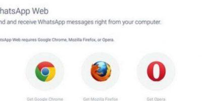 Permite chatear, enviar fotos o archivos desde su ordenador siempre y cuando su PC y el smartphone estén conectados en la misma red de datos Foto:WhatsApp